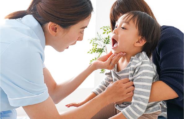お子様への予防歯科